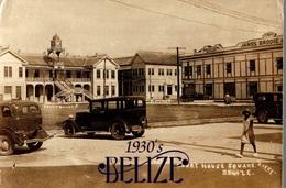 CPSM 1930's Belize Court House Square Belize - Reproduction - Belice