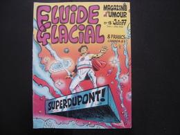 1977 Bande Dessinée FLUIDE GLACIAL N° 13 Dessins Humour - Fluide Glacial