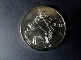 Kuba  Cuba 1 Peso 1994, La India, Schiff Columbus, Colon, Entdeckung Cuba, Unc. Coin, Moneda, Selten, Raro, Rare - Cuba