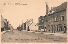 CPA - Belgique - Westende - Rue Du Village - Friture - Westende