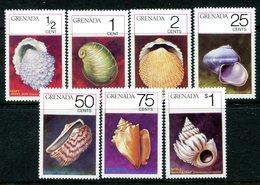 Grenada 1975 Seashells Set MNH (SG 721-727) - Grenada (1974-...)