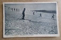 LA SCHLUCHT - Skieurs Au Montabey ( 88 Vosges ) - France