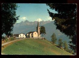 C1096 ST. NICOLAS - CHIESETTA STILE ROMANICO VG FRANCOBOLLO DANNEGGIATO - Italia