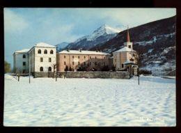 C1097 ST. PIERRE - PRIORATO CON LA NEVE VG 1983 - Italia