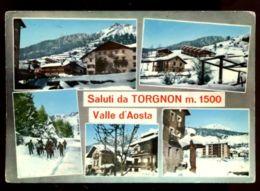 C1101 SALUTI DA TORGNON  VG 1969 - Italia