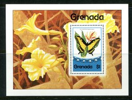 Grenada 1975 Butterflies MS MNH (SG MS736) - Grenada (1974-...)