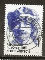 Pays-Bas Netherlands 2019 Rembrandt Obl - Periode 2013-... (Willem-Alexander)