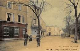 46. N° 54925.LIMOGNE.avenue De La Poste - France