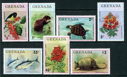 Grenada 1976 Flora And Fauna Set MNH (SG 761-767) - Grenada (1974-...)