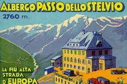 @@@ MAGNET - Albergo Passo Dello Stelvio Italy - Pubblicitari