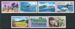 Grenada 1976 Tourism Set MNH (SG 769-775) - Grenada (1974-...)