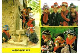 3070i: AK Thailand, Kinder Mit Trachtengewand, Ungelaufen - Costumi