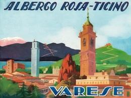 @@@ MAGNET - Albergo Rosa Ticino Varese Italy - Pubblicitari