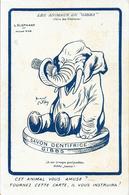 Publicité: Les Animaux De Gibbs (Dentifrice, Brosse à Dents) Illustration Nam: L'Eléphant: Je Me Trompe - Other