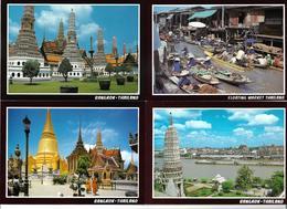 3070h: AK- Serie Thailand, 10 Stück Verschiedene Ansichten, Ungelaufen - Thaïland