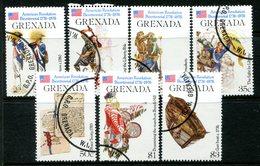 Grenada 1976 Bicentenary Of American Revolution - 2nd Issue Set Used (SG 785-791) - Grenada (1974-...)