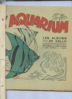 L'AQUARIUM  LES ALBUMS DE GALLO........réf C42...12 Très Beaux Dessins à Colorier - Livres, BD, Revues