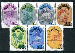 Grenada 1976 Olympic Games, Montreal Set MNH (SG 800-806) - Grenada (1974-...)