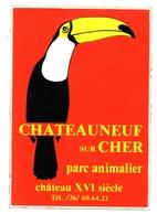 Chateauneuf Sur Cher Autocollant Parc Animalier - Autocollants