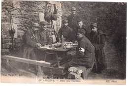 CPA MARNE.EN ARGONNE.DANS UNE CARRIERE.CAMPAGNE 1914-1915 - Autres Communes