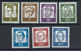 Allemagne - RFA N°220c/28a** (MNH) 1961 - Allemands Célèbres - Célébrités