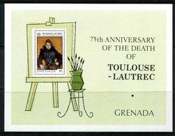 Grenada 1976 75th Death Anniversary Of Toulouse Lautrec MS MNH (SG MS815) - Grenada (1974-...)