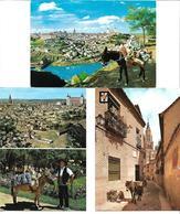 3070b: 3 AKs Mit Motiv Esel Aus Spanien- Toledo, Allesamt Ca. 1970 Nach Österreich Gelaufen - Esel
