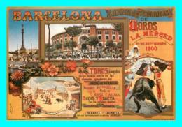 A758 / 033  BARCELONA Composition Cartel Taurino - Barcelona