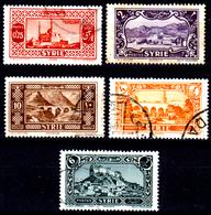 Siria-00031 - Valori Del 1930-36 (o) Used - Senza Difetti Occulti. - Siria (1919-1945)