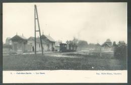 TRAM - C.P. De CUL-DES-SARTS - La Gare + Train -  13864 - Cul-des-Sarts