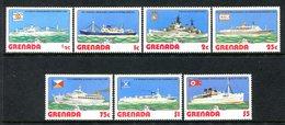 Grenada 1976 Ships Set MNH (SG 833-839) - Grenada (1974-...)