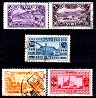 Siria-00032 - Valori Del 1930-36 (+/o) LH/Used - Senza Difetti Occulti. - Syrie (1919-1945)