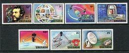 Grenada 1976 Telephone Centenary Set MNH (SG 849-855) - Grenada (1974-...)