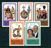 Grenada 1977 Silver Jubilee - P.13½ X 14 - Set MNH (SG 857-861) - Grenada (1974-...)