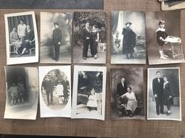 Lot De 26 Cartes Photo - Postcards