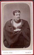 THMS MILITARIA 2;  Cuirassier Photo CDV 19éme Siècle Saumur. Victor Coué Photographe De L'école De Cavalerie. - Guerre, Militaire