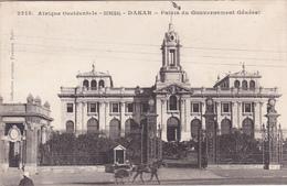 CPA Afrique Occidentale - Sénégal - Dakar - Palais Du Gouvernement Général - 1913 - Sénégal