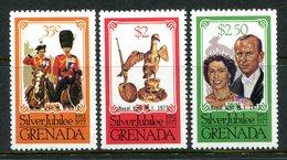 Grenada 1977 Royal Visit - P.11½ X 12 - Set MNH (SG Footnote) - Grenada (1974-...)