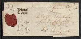 DA BRESSANONE - 2.10.1846 - TRANSITO A TRENTO. - Italia