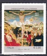 Repubblica Italiana, 2017 - 95c Chiesa Evangelica Luterana - Nr.3818 MNH** - 6. 1946-.. Repubblica