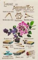Fantaisie : Langage Des Allumettes - Fancy Cards