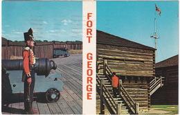 Fort George - Niagara-on-the-Lake  - (Ontario, Canada) - 1964 - Chutes Du Niagara