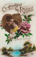 Couple : Dans Un Coeur : Ce Que Disent Les Roses : Fantaisie - Couples