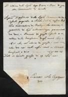 PERIODO NAPOLEONICO - CERRETO - 29.9.1807. - Italia