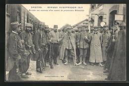 CPA Nantes, Guerre Europeenne 1914, Arrivee Aux Environs D`un Convoi De Prisonniers Allemands - Nantes