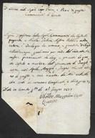PERIODO NAPOLEONICO - CERRETO - 27.6.1807. - Italia