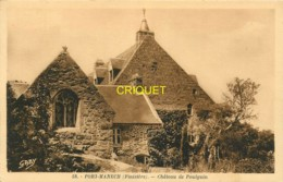 29 Port-Manech, Chateau De Poulguin, Belle Carte Pas Courante - Autres Communes
