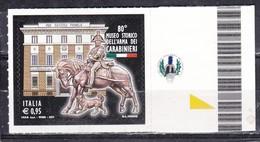 Repubblica Italiana, 2017 - 95c Museo Storico Arma Dei Carabinieri - Nr.3829 MNH** - 6. 1946-.. Repubblica