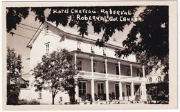 Roberval - Hotel Chateau 'Roberval'  - (Québec, Canada) - 1953 - Saguenay