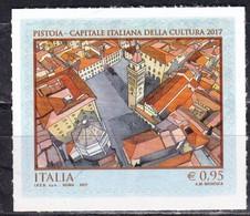 Repubblica Italiana, 2017 - 95c Pistoia Capitale Della Cultura - Nr.3825 MNH** - 6. 1946-.. Repubblica